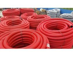 Труба одностенная гофрированная для ливневой канализации D=160 мм