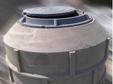 Кольцо полимерпесчаного сборного колодца 0.20 метра (D=1 м)