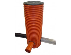 Дренажный пластиковый колодец диаметром 368/315 мм - 5000 мм