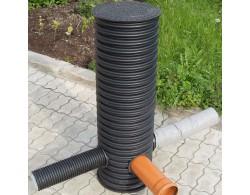 Дренажный пластиковый колодец  диаметром 460/1000 мм