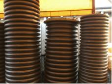 Смотровой коллекторный колодец с дном и люком диаметром 700 мм длинной 4 м