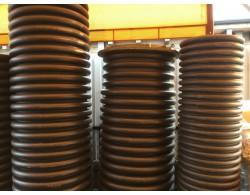 Смотровой коллекторный колодец диаметром 1000 мм с дном и с люком длинной 2 м