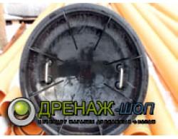 Крышка-дно дренажного колодца ПП диаметр 460 мм