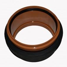 Муфта (для врезки в дренажный  колодец ) диаметр 160 мм