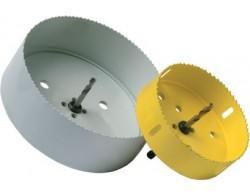 Коронка для врезки муфты в дренажный колодец диаметром 110 мм