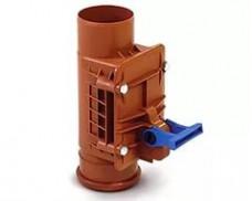 Обратный клапан для дренажного колодца диаметр 110 мм (пр-во Россия)