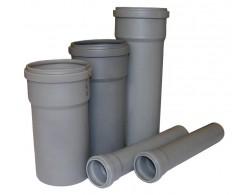 Труба (ПВХ) с раструбом 110/3.2/3000 мм