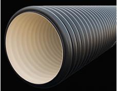 Дренажный пластиковый колодец диаметром 300/267х6000 мм