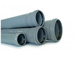 Труба (ПВХ) с раструбом 110/3.2/1000 мм