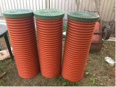 Дренажный пластиковый колодец диаметром 368/315 мм - 2000 мм