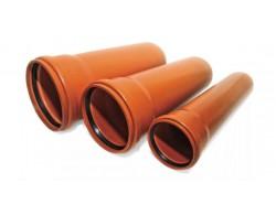 Труба раструбная ПВХ Д 110 ммДл 1.5м